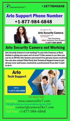 33 Best Arlo Support Phone Number 18779846848 images in 2019 | Arlo