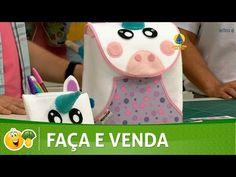 (3) Kombina | Aprenda a fazer um lindo estojo de unicórnio em feltro com Mônica Oliveira Roma - - YouTube