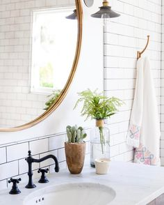 Bathroom vanity styling. mindy gayer design co.