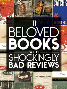 11 Beloved Books With Shockingly Bad Reviews
