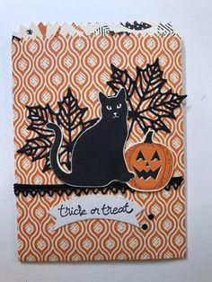 Stampin Up tiny treat bag Halloween https://www.youtube.com/watch?v=YIrR9zM_1oo