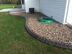 Landscape Edging Borders, Landscape Curbing, Different Styles, Outdoor Decor, Home, Ad Home, Homes, Haus, Houses