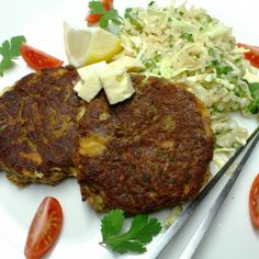 Cheesy fishcakes with Thai rice salad | Freshly Blogged