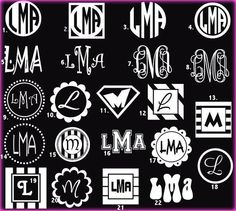 Monograms tattoo my sons initials on my wrist Silhouette Cameo Projects, Silhouette Design, Silhouette Files, Car Tattoos, 7 Tattoo, Funny Tattoos, Embroidery Monogram, Silhouette Machine, Monogram Fonts