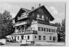 Alte Ansichtskarte Utting am Ammersee Wittelsbacher Hof