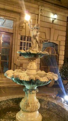 Golden fountain