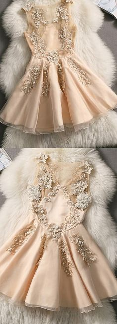 Short Prom Dresses, Champagne Prom Dresses, Prom Dresses Short, Princess Prom Dresses, A Line Prom Dresses, Homecoming Dresses Short, Short Homecoming Dresses, A Line dresses, Short Party Dresses, Applique Party Dresses, Mini Party Dresses, A-line/Princess Homecoming Dresses