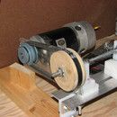 100% Homemade Lathe
