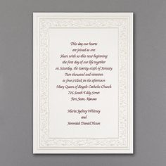 Dancing Hearts - Invitation. Available at Persnickety Invitation Studio.