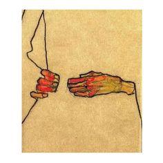 Egon Schiele, 1910 〰 FW15 mood board