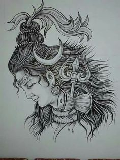 Here you will find most beautiful and attractive Shiva tattoo designs and ideas for your Shiva tattoos, Lord shiva beautiful tattoos and designs for men and women. Trishul Tattoo Designs, Sketches, Mandala Design Art, Pictures To Draw, Art Drawings Sketches, Art, Shiva Tattoo Design, Lord Shiva Sketch, Tattoos For Women Small Meaningful