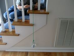 Think your little one is too young to learn about simple machines?  Try this easy activity to make a pulley and they will learn as they play and discover how it works.