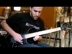 Martin G riffstation.com jams out the guitar solo from Under a Glass Moon from Dream Theater the ibanez guitar
