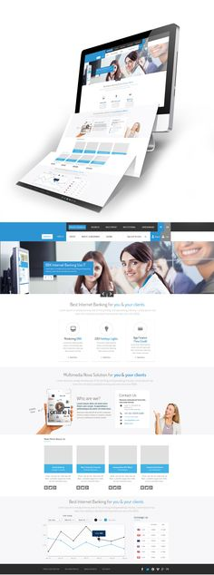 Internet Banking Web Design by vasiligfx.deviantart.com on @deviantART