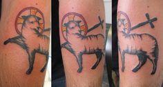 Tatuajes de ovejas para los que han reconducido su camino - http://www.tatuantes.com/los-tatuajes-ovejas/ #tattoo