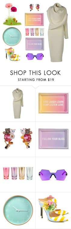 """""""Spring time, finally"""" by didesi ❤ liked on Polyvore featuring Acne Studios, Fringe, Les Néréides, Rosanna, Glassing, Giannico and Spring"""