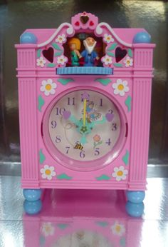 Polly pocket clock!! One of my favourite toys when I was a child, I'd completely forgotten about this until just now!