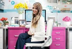 See how Jessica Alba brought her vintage vision for The Honest Company's office to life on our blog!