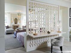Как разделить комнату на две зоны? 30 потрясающе красивых идей    #дизайн #зонирование #интерьер Красота
