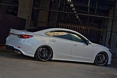 Mazda Atenza (Mazda 6) with RAYS Volk Racing G27 on
