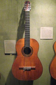 Andres Segovia's classical 1912 Remirez guitar.