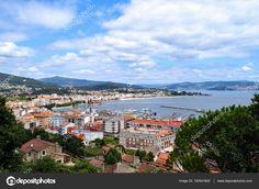 Cangas by the Bay of Vigo Birds In Flight, Paris Skyline, Spain, Mexico, Europe, Ocean, Stock Photos, Landscape, Beach
