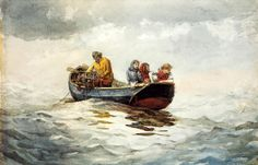 Crab Fishing, 1883, Winslow Homer