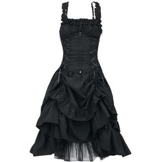 Soul Dress ($76) ❤ liked on Polyvore featuring dresses, goth dress, gothic lolita dress and gothic dress