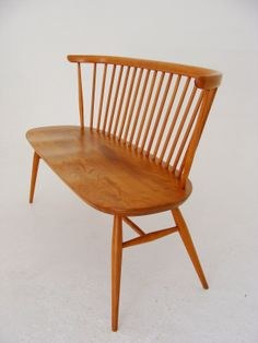 New vintage furniture stock at Vamp - 04 April 2014. Original Ercol Windsor Loveseat