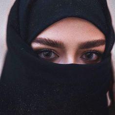 Gif Photo, Beautiful Hijab, Niqab, Veil, Baseball Hats, Eyes, Pictures, Photos, Women's Fashion