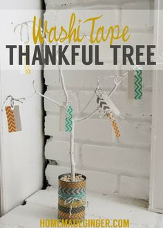 Washi Tape Thankful