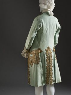 Suit (image 4)   France   1760   wool, sequins, silk   Los Angeles County Museum of Art   Museum #: M.2007.211.946a-c