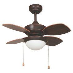 """Yosemite Home Decor Ceiling Fan Oil Rubbed Bronze 52"""""""