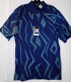 NEW $149 BUGATCHI UOMO Italian Cotton GOLF POLO SHIRT~S~Neiman Marcus~Nice Gift! #BUGATCHIUOMO #PoloRugby