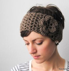 Cute headband for winter