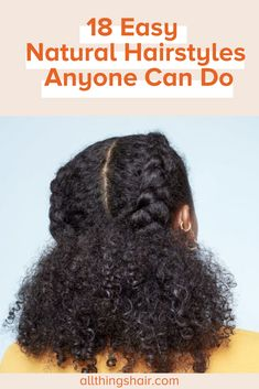 These chic, easy natural hairstyles are all you need to spruce up your mane game! Easy Black Girl Hairstyles, Cute Natural Hairstyles, Protective Hairstyles For Natural Hair, Natural Hair Twists, Hairstyles Haircuts, Wedding Hairstyles, Hairstyles For Afro Hair, Protective Braids, Natural Hair Puff