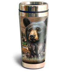 American Expedition Wildlife Collectio 16oz Steel Travel Mug