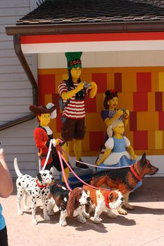 Downtown Disney Lego Creations