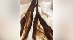 Real-Life Rapunzel Has 90 Inch Long Hair: HOOKED ON THE LOOK