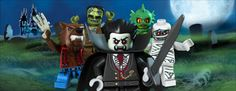 Lego Monsters - The most awesome Legos Ever!!!    Read more at http://monsterfighters.lego.com/en-us/products/default.aspx#