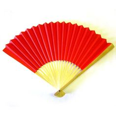oriental fans, folding fans, red Chinese fans