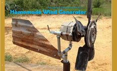 Homemade Wind Generator — RD Copeland @ motherearthnews.com Building your own home wind generator is simple, if you are equipped with good plans and knowing what you need to act upon. If you're around a reasonable amount of wind, pay out a little cash and one or two weekends and see what you can get …