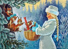 happy new year post cards of ussr theme noel christmas fairy christmas and new