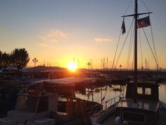Sunset In Aegina.  Ph. Laura Novel