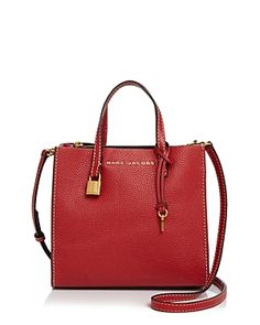 abfab06911 MARC JACOBS THE MINI GRIND LEATHER CROSSBODY.  marcjacobs  bags  shoulder  bags