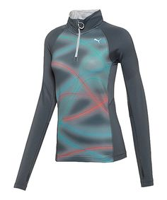 This PUMA Turbulence Pure Graphic 1up Long Sleeve Half-Zip Pullover by PUMA is perfect! #zulilyfinds