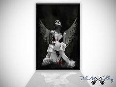Gothic, Batman, Superhero, Google, Fictional Characters, Art, Erotica, Angel, Wall Prints