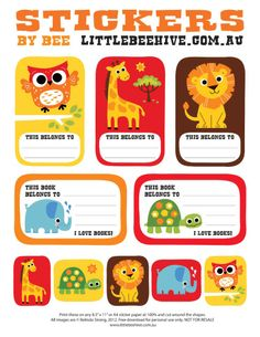 We Love to Illustrate: It's time for some FREE Back-to-School Downloads!