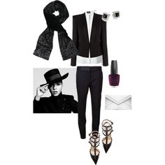 """""""Our Tux Sequins Tie—Holiday Glam!"""" by shawlsmith on Polyvore"""