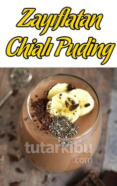 Zayıflatan Muzlu Chialı Puding Tarifi – Tatlı tarifleri – The Most Practical and Easy Recipes Colored Hair Tips, Recipe Images, Diet And Nutrition, Natural Cures, Smoothies, The Cure, Clean Eating, Healthy Recipes, Cooking